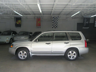 2003 Subaru Forester 4dr 2.5 XS Automatic w/Premium Pkg $4300 inlcudes FREE SHIPPING 84,000 MILES AWD XS 2.5L FLORIDA NONSMOKER CLEAN!