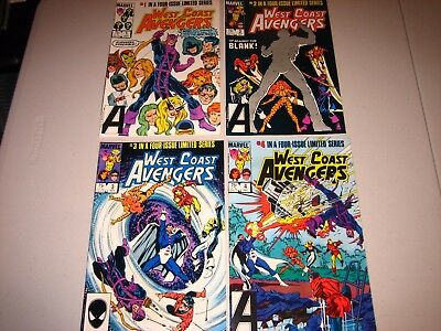West Coast Avengers 1-4 Limited series VF/NM