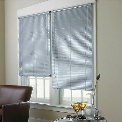 """1"""" Spectra High Gloss Vinyl Mini Blinds - 8 Colors - Free Shipping"""