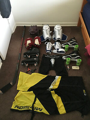 Mens Roller Hockey Equipment Size Large