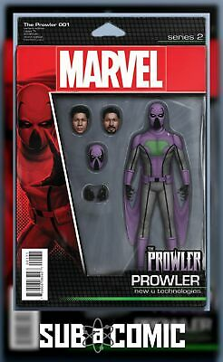 PROWLER #1 CHRISTOPHER ACTION FIGURE VARIANT (MARVEL 2016 1st Print) COMIC