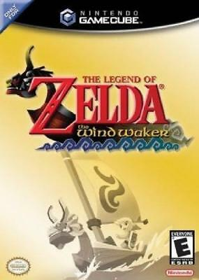 The Legend of Zelda: Wind Waker (Nintendo Gamecube) Complete NM Nintendo
