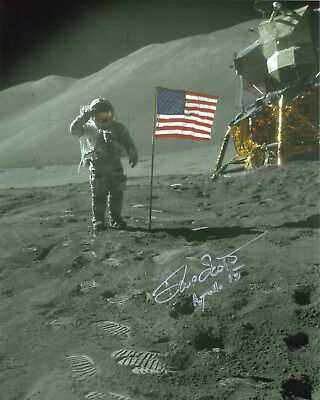 Dave Scott NASA Apollo astronaut signed autographed photo IN PERSON