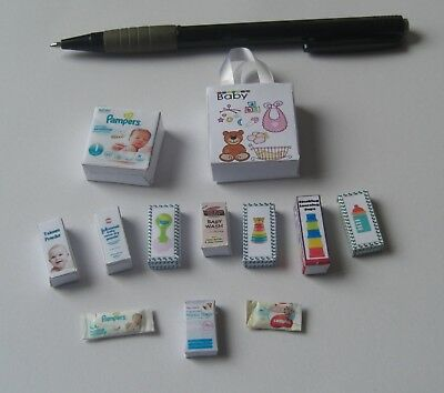 Dollshouse - 12th scale -  Baby Set
