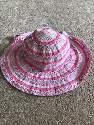 Girls Millymook Hat Size 55cm 5-9 Years As New