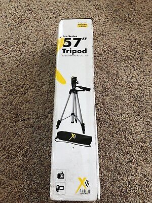 Pro Series 57 Inch Camera / Camcorders / DSLRd Tripod C w/ carrying case
