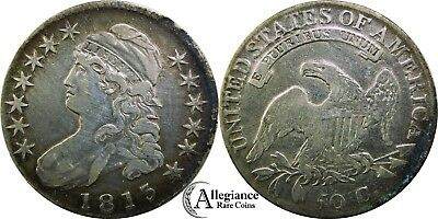 1813 50c Capped Bust Half Dollar rare old type coin from an old-time collection