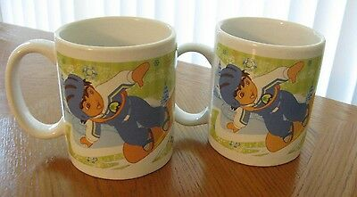 Pair of Dora The Explorer 2007 Mugs Viacom
