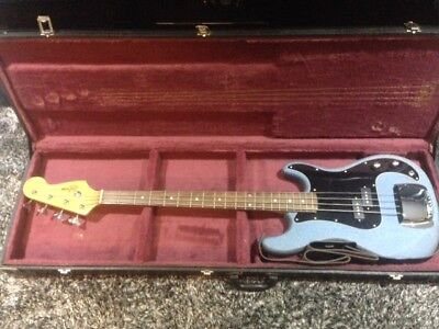 """Refurbished""-RARE Le Grange Bronco Bass Guitar by Texas Guitars 80's"