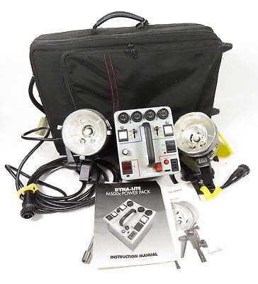 Dynalite 1000Xr Power Pack + 1015 + 2040 Blower Cooled Flash Head + Tube + Case