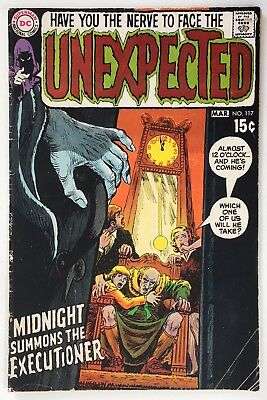 Unexpected #117 VG 4.0 (1970) DC Horror, Nick Cardy Cover! Combine Ship!