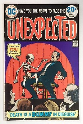 Unexpected #156 VF- 7.5 white pages  DC 1974