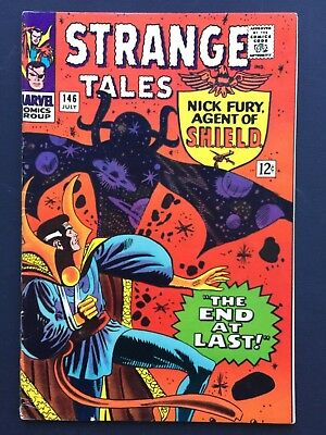 """Strange Tales # 146 July 1966 VF """"THE END AT LAST!"""""""