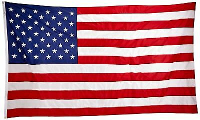 Valley Forge Flag 6 x 10 Foot Large Commercial-Grade Nylon US American Flag