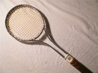 Vintage Wilson T2000 Steel Jimmy Connors Style Tennis Racquet