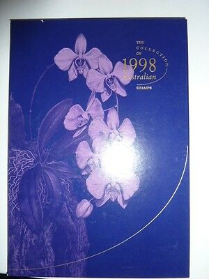 1998 The Collection of Australian Stamps publication and stamps