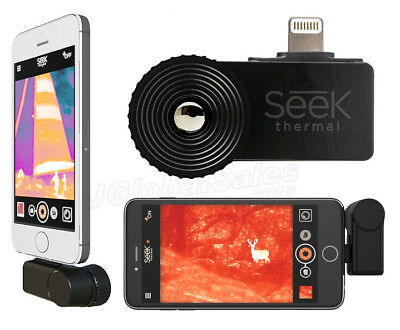 Seek CompactXR Extra Range Thermal Imaging Camera Imager for Apple iOS iPhone