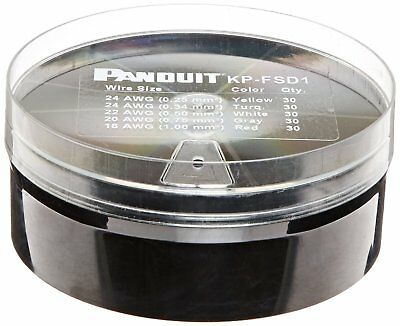 Panduit KP-FSD1 Ferrule Kit with #24 - 18 AWG Insulated Din Ferrules