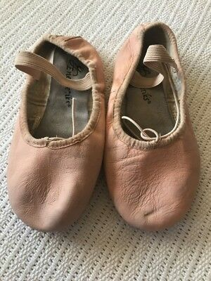 ENERGETIKS Child Size 1.5B Leather Ballet Shoes