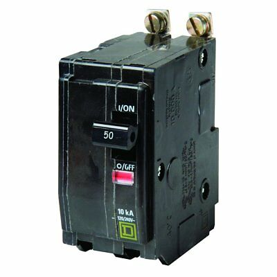 Square D by Schneider Electric QOB250CP QO 50 Amp Two-Pole Bolt-On Circuit