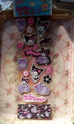 Sanrio My Melody KUROMI  too cute ♡ Seals Stickers from Japan