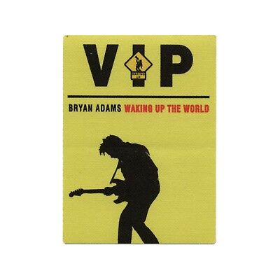 Bryan Adams authentic VIP 1991 tour Backstage Pass