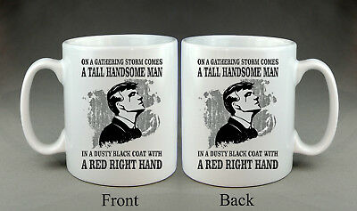 Peaky Blinders Theme Mug Tommy Shelby Cillian TV Show Gift Present Tommy Shelby