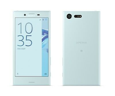 Sony XPERIA X Compact in Blue Handy Dummy Attrappe - Requisit, Deko, Muster