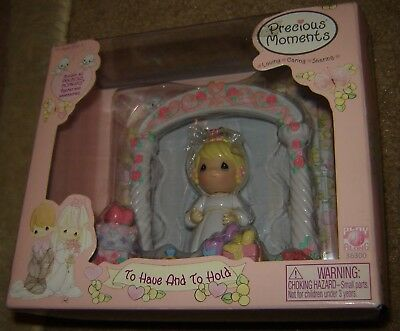 Precious Moments Figures And Accessories To Have And To Hold, New, Nrfb, Rare!!