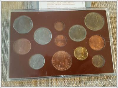 1967 - 1971 Complete Decimal Issue & Last L.S.D. Great Britain 1967 -12 Coin Set