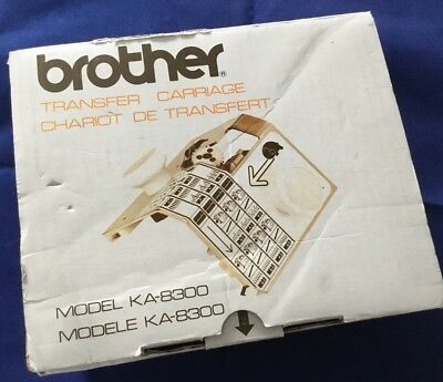 BROTHER Knitting Machine Transfer Carriage Model KA-8300