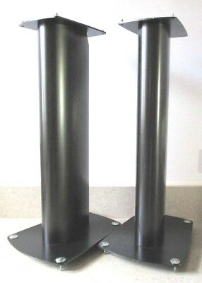 PAIR OF HIGH QUALITY HI-FI SPEAKER STANDS WITH SPIKES in EXCELLENT CONDITION