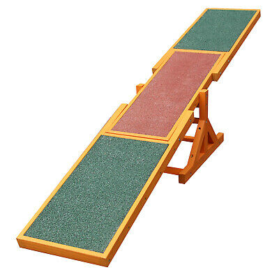 Dog Pet Seesaw Agility Training Equipment Exercise Toy Puppet Play Supllies