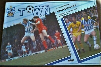 Huddersfield Town  V  Manchester City 1987-88 Fa Cup