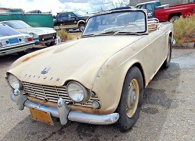 1963 Triumph Other  1963 Triumph TR4-Long Long Time Sitter-Like 35 Years ! -.-Solid Project-Original