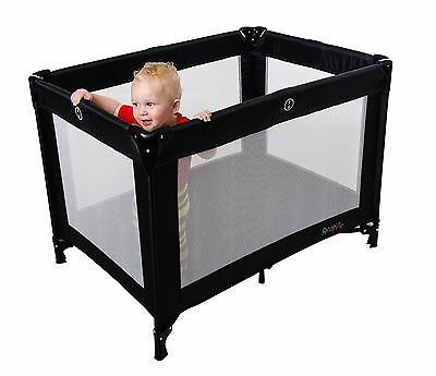 Red Kite Sleeptight Travel Cot - Black
