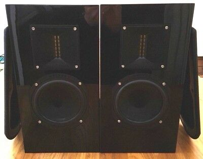 ROKSAN KANDY K2 TR-5 BI-WIRE SPEAKERS WITH RIBBON TWEETERS MADE IN ENGLAND Exc