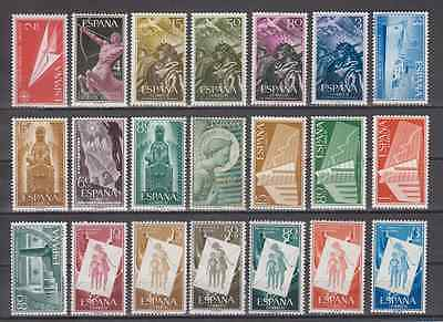 Spain Year 1956 New Mnh Spain - Edifil (1185-1205) Complete Without Stamp Hinges