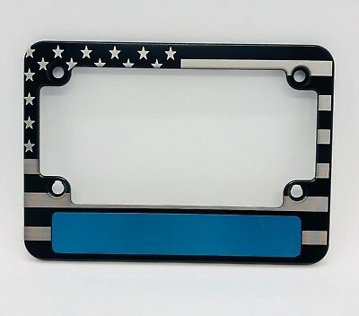 AMERICAN FLAG, BILLET Aluminum License Plate Frame, Single, no Badge ...