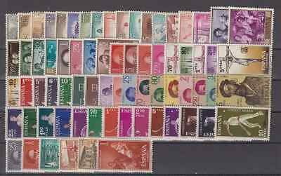Spain Year 1960 New Mnh -Scot ( 1254 - 1325 ) Complete Without Stamp Hinges