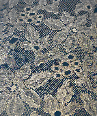 2 pcs. antique/vintage 1920s gold metallic lace border