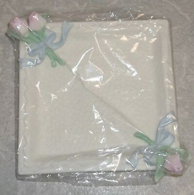 New In Package 1991-1999 Honor Society Avon President's Club Tribute Rose Dish
