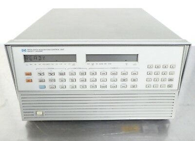 R147238 HP 3852A Data Acquisition Control Unit Fully Loaded