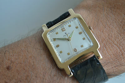 men's rare ROLEX ref. 1569 VINTAGE CLASSIC WATCH, HAND WINDING 18k SOLID GOLD