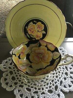 VINTAGE PARAGON WIDE MOUTH Cup & Saucer
