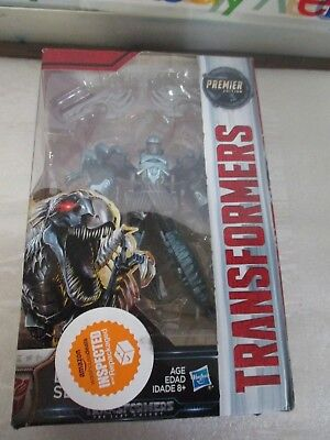 Transformers The Last Knight Movie Premier Edition Raptor Figure - Dinobot Slash