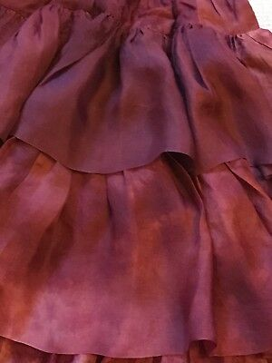 Workers for Freedom organza flamenco skirt