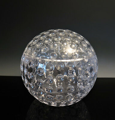 Lucite Acrylic ICE BUCKET Round Optic