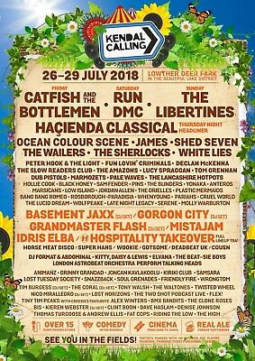 Kendal Calling 2018 live in vehicle pass