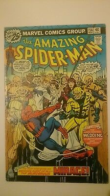Amazing Spiderman # 156  Fn+  Vs  Mirage  Cents  1976